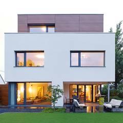 Gartenansicht:  Häuser von bdmp Architekten & Stadtplaner BDA GmbH & Co. KG