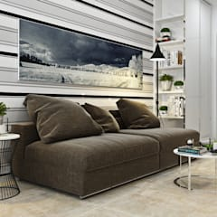 Квартира для Европейца: Гостиная в . Автор – Сергей Харенко