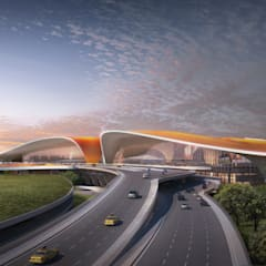 Beijing Daxing International Airport من Zaha Hadid Architects أسيوي