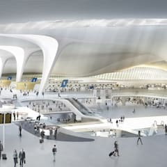 Beijing Daxing International Airport:  Airports by Zaha Hadid Architects