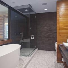 E 53rd St Apartment, NYC:  Bathroom by Eisner Design
