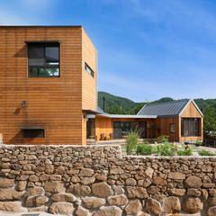 Ssangdalri House hyunjoonyoo architects 모던스타일 주택