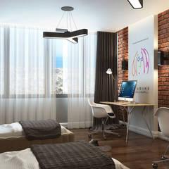 Çağrı Aytaş İç Mimarlık İnşaat – DE LIFE HOMES: modern tarz Çocuk Odası