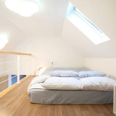 매일매일이 캠핑같은 전남 광양주택: 주택설계전문 디자인그룹 홈스타일토토의  침실,모던
