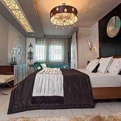 Mimoza Mimarlık – Phaselis Konutları Antalya:  tarz Yatak Odası,