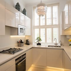 Hampstead Family Home, London:  Kitchen by DDWH Architects