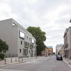 Straßenansicht:  Mehrfamilienhaus von BCO Architekten