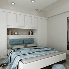 Niyazi Özçakar İç Mimarlık – N.Ö. EVİ:  tarz Yatak Odası