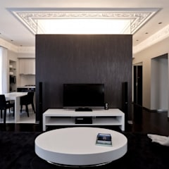 Living room by Archibrook,