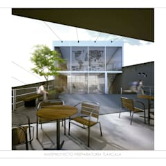 ESCUELA TLAXCALA: Escuelas de estilo  por gOO Arquitectos