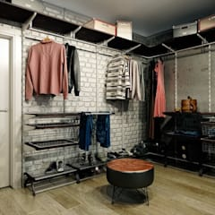 Vestidores y closets de estilo  por CO:interior