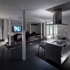 Salon de style  par 有限会社アルキプラス建築事務所, Moderne