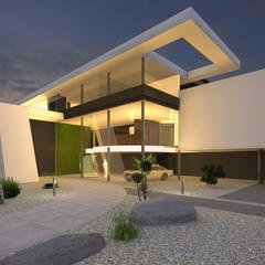 Praxisgebäude in moderner Architektur:  Praxen von FLOW.Architektur