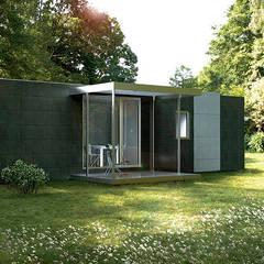 منزل جاهز للتركيب تنفيذ Casas Cube