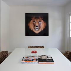 Woonhuis Bergen : minimalistische Studeerkamer/kantoor door By Lenny