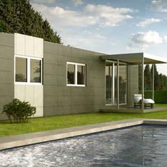 Casas prefabricadas de estilo  por Casas Cube