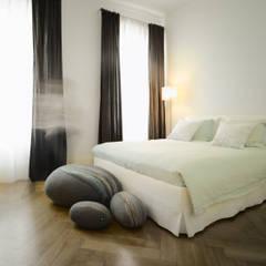 Appartement Stuttgart:  Slaapkamer door Yeh Design,