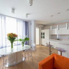 Яркий минимализм: Столовые комнаты в . Автор – D&T Architects