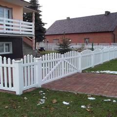 Ogrodzenie wypukłe 2: styl , w kategorii Ogród zaprojektowany przez Ogrodzenia Radosław Sycz