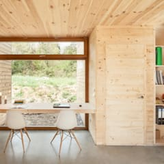 Casa GG: Comedores de estilo  de Alventosa Morell Arquitectes