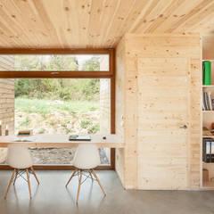 Casa GG Modern dining room by Alventosa Morell Arquitectes Modern