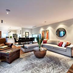 Floreat Residence, Perth, Western Australia: modern Living room by Moda Interiors