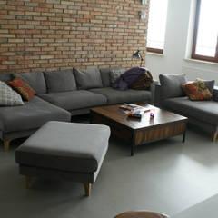 LOFT W WIALANOWIE: styl , w kategorii Salon zaprojektowany przez t design