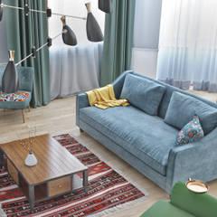 Дизайн гостиной комнаты в Баку: Гостиная в . Автор – ILKIN GURBANOV Studio