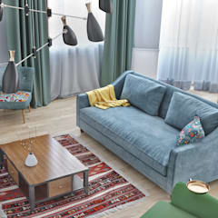 Living room by ILKIN GURBANOV Studio