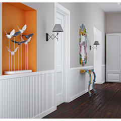 Corridor & hallway by ILKIN GURBANOV Studio, Scandinavian