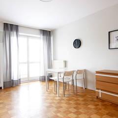 SALON PO METAMORFOZIE: styl , w kategorii Jadalnia zaprojektowany przez Better Home