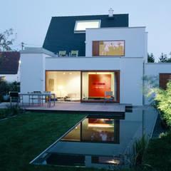 Wohnhaus, München Laim Löffler Weber | Architekten Moderner Garten