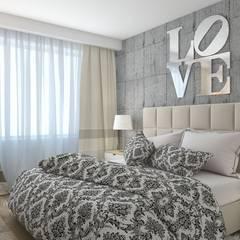 квартира в современном стиле 1: Спальни в . Автор – архитектор-дизайнер Алтоцкий Михаил (Altotskiy Mikhail)
