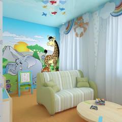 детские: Детские комнаты в . Автор – архитектор-дизайнер Алтоцкий Михаил (Altotskiy Mikhail),