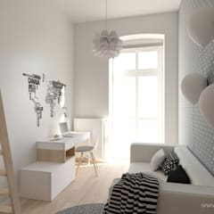 Nursery/kid's room by MIRAI STUDIO,