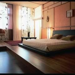 Дом в стиле Zen: Спальни в . Автор – Studio B&L
