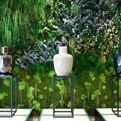 Mur Végétaux: Bureaux de style  par Green Mood