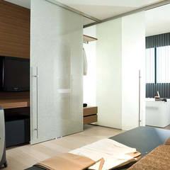 Studio Arredamento Contract  _Albergo – Bed and breakfast –hotel o Residence: Hotel in stile  di Designer1995  Live Work Design