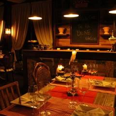 TOFANI RISTORANTE: Espaços gastronômicos  por ALA Arquitetura & Interiores