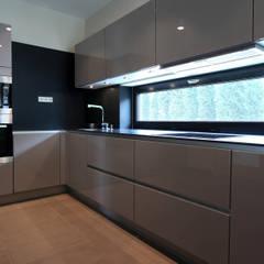 مطبخ تنفيذ Архитектурное бюро Лены Гординой