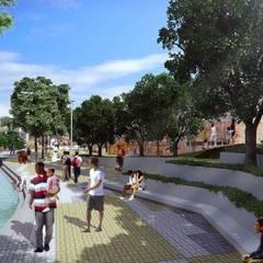 Requalificação Urbana - Jardim Colombo: Casas  por Levisky Arquitetos | Estratégia Urbana
