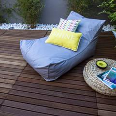 Jardim Bambus Jardins rústicos por MUDA Home Design Rústico