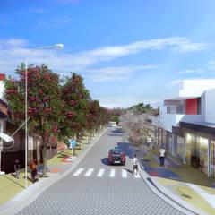 منازل تنفيذ Levisky Arquitetos | Estratégia Urbana