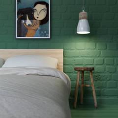 Kleine slaapkamer door INT2architecture