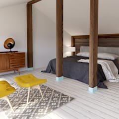 Small bedroom توسطINT2architecture, اسکاندیناویایی