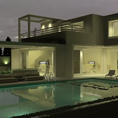 White Retreat:  Pool by Neotecture