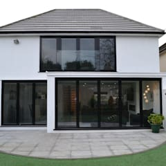 Rear Elevation - As Built:  Houses by Arc 3 Architects & Chartered Surveyors