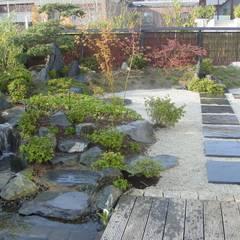 Jardines de estilo  por Kokeniwa Japanische Gartengestaltung,