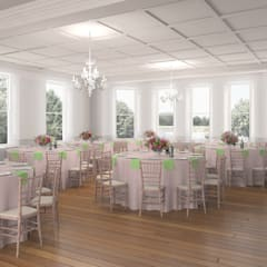 Winchester House:  Event venues by Bright Green Design