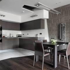 Квартира на Ленинградке: Кухни в . Автор – ARTRADAR ARCHITECTS